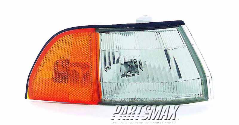 001390 | RT Front marker lamp assy; all for a 1990-1993: ACURA, INTEGRA