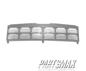 000860 | Grille assy; black for a 1991-1996: DODGE, DAKOTA