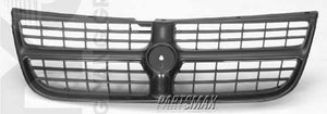 000860 | Grille assy; medium blue for a 1995-1995: CHRYSLER, CIRRUS