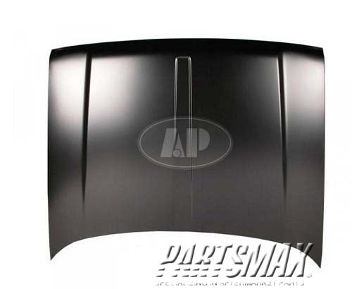 000010 | Hood panel assy; Grand Cherokee; w/o louver holes for a 1993-1998: JEEP, GRAND CHEROKEE