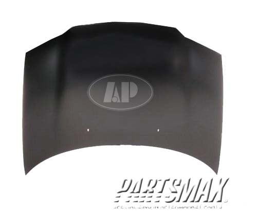 000010 | Hood panel assy; may require additional parts for a 1995-1999: DODGE, STRATUS