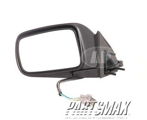 001700 | LT Mirror outside rear view; power remote; non-heated; black for a 1992-1995: PLYMOUTH, VOYAGER