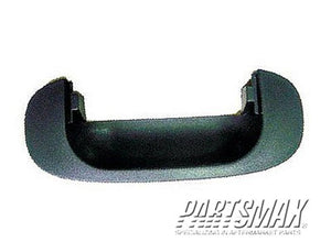 002060 | Rear gate handle bezel; handle housing; black for a 1994-2001: DODGE, RAM 1500