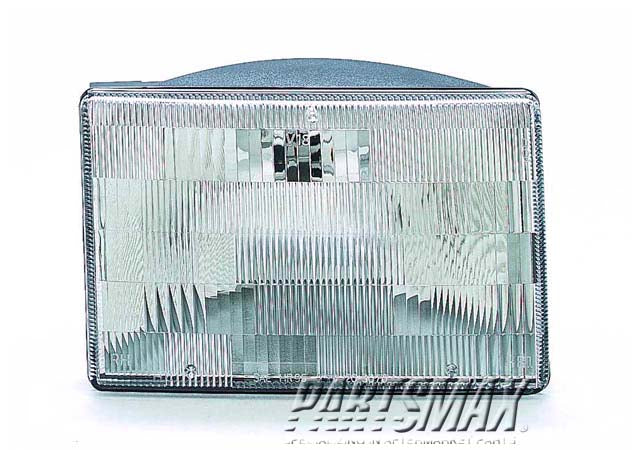 001150 | LT Headlamp assy composite; Grand Cherokee for a 1993-1995: JEEP, GRAND CHEROKEE