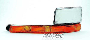 001276 | RT Parklamp assy; includes clearance lamp/headlamp bezel for a 1991-1995: PLYMOUTH, VOYAGER