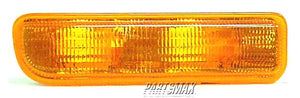 001276 | RT Parklamp assy; park/signal combination for a 1997-2001: JEEP, CHEROKEE