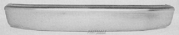 000260 | Front bumper face bar; gas; prime for a 1992-1996: FORD, F-150