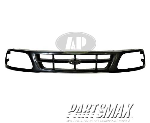 000860 | Grille assy; paint to match for a 1997-1998: FORD, F-150