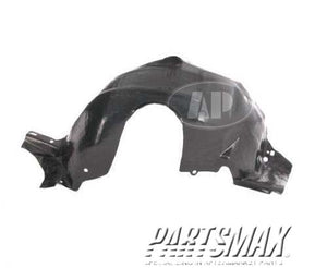 000150 | LT Front fender splash shield; all for a 1994-1998: FORD, MUSTANG