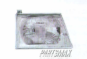 001160 | RT Headlamp assy composite; all for a 1992-1996: FORD, E-150 ECONOLINE