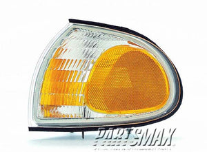 001380 | LT Front marker lamp assy; marker/signal combo; clear & amber for a 1995-1996: FORD, WINDSTAR