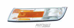001380 | LT Front marker lamp assy; w/cornering lamp for a 1995-1997: MERCURY, GRAND MARQUIS