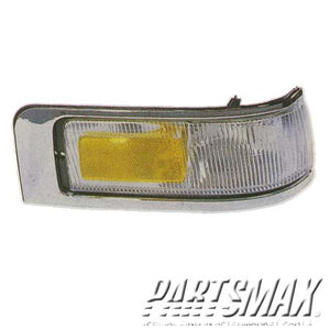001380 | LT Front marker lamp assy; all for a 1995-1997: LINCOLN, TOWN CAR