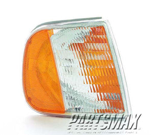 001390 | RT Front marker lamp assy; park/signal combo for a 1997-2002: FORD, EXPEDITION
