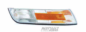 001390 | RT Front marker lamp assy; w/cornering lamp for a 1995-1997: MERCURY, GRAND MARQUIS