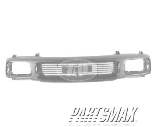 000860 | Grille assy; SL; gray for a 1994-1997: GMC, SONOMA