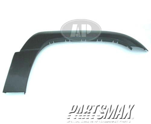 000200 | RT Front fender flare; C/K; smooth finish; prime for a 1997-1998: GMC, C1500
