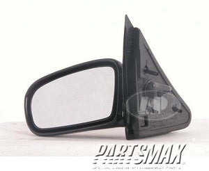 001700 | LT Mirror outside rear view; 2dr coupe; manual remote for a 1995-2005: PONTIAC, SUNFIRE