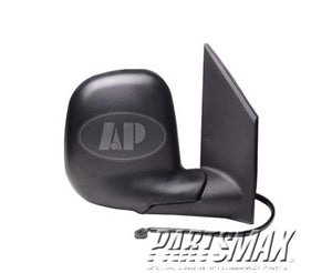 001710 | RT Mirror outside rear view; late design; power remote; convex for a 1996-2002: GMC, SAVANA 1500