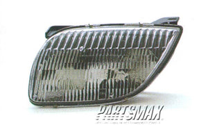 001150 | LT Headlamp assy composite; all for a 1995-2002: PONTIAC, SUNFIRE