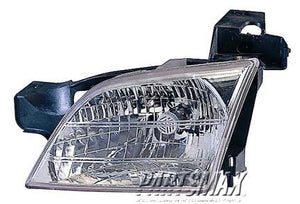 001160 | RT Headlamp assy composite; all for a 1999-2005: PONTIAC, MONTANA