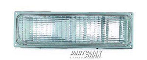 001276 | RT Parklamp assy; C/K; w/composite headlamps for a 1988-1993: GMC, C1500