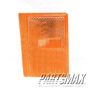 001380 | LT Front marker lamp assy; C/K; 2-piece type; lower for a 1988-1993: CHEVROLET, C1500
