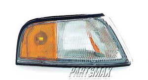 001390 | RT Front marker lamp assy; all for a 1990-1994: CHEVROLET, LUMINA