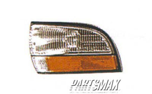 001390 | RT Front marker lamp assy; w/corner lamp for a 1992-1996: BUICK, LESABRE