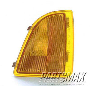001390 | RT Front marker lamp assy; all for a 1994-1997: GMC, SONOMA