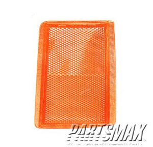 001450 | RT Front side reflector; C/K; w/2-piece marker; upper for a 1988-1999: CHEVROLET, C1500