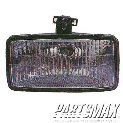 001560 | LT Fog lamp assy; all for a 1992-1994: CHEVROLET, BLAZER