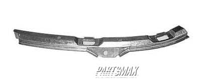 000430 | RT Front bumper cover reinforcement; side stiffener for a 1996-2000: HONDA, CIVIC