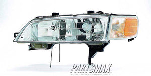 001150 | LT Headlamp assy composite; includes park/marker lamp for a 1994-1997: HONDA, ACCORD