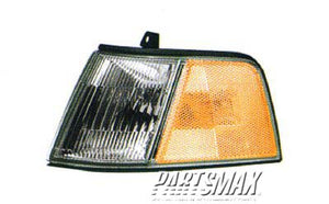 001380 | LT Front marker lamp assy; 4dr sedan for a 1990-1991: HONDA, CIVIC