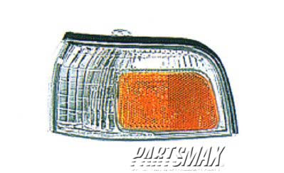 001380 | LT Front marker lamp assy; park/marker combination for a 1990-1991: HONDA, ACCORD