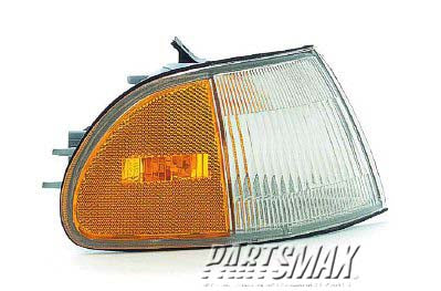 001390 | RT Front marker lamp assy; 4dr sedan; signal/marker combination for a 1992-1995: HONDA, CIVIC