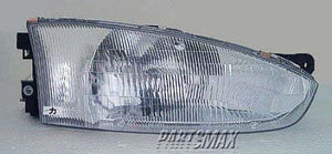 001160 | RT Headlamp assy composite; 2dr coupe for a 1997-2002: MITSUBISHI, MIRAGE