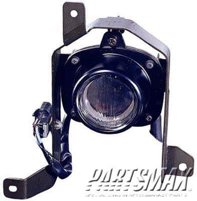 001570 | RT Fog lamp assy; all for a 1997-1999: MITSUBISHI, MONTERO SPORT