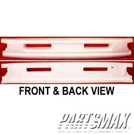 000720 | Front bumper energy absorber; all for a 1995-1996: NISSAN, MAXIMA
