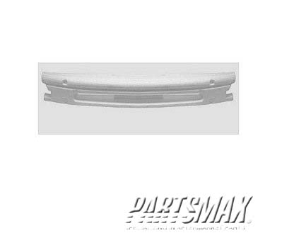 000720 | Front bumper energy absorber; all for a 1997-1999: NISSAN, MAXIMA