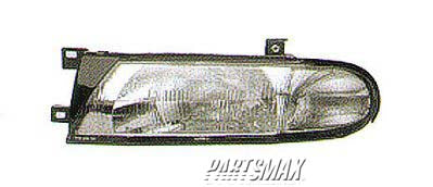 001150 | LT Headlamp assy composite; XE/GXE for a 1993-1997: NISSAN, ALTIMA