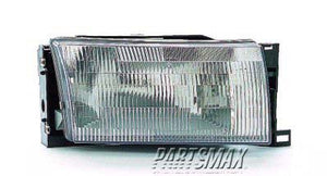 001160 | RT Headlamp assy composite; all for a 1993-1995: MERCURY, VILLAGER