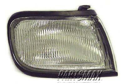 001276 | RT Parklamp assy; beside headlamp for a 1995-1996: NISSAN, MAXIMA