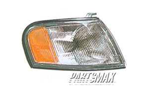 001276 | RT Parklamp assy; all for a 1995-1998: NISSAN, 200SX