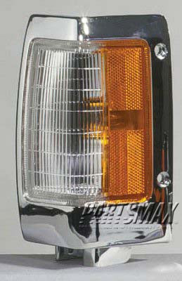 001380 | LT Front marker lamp assy; bright for a 1990-1997: NISSAN, PICKUP