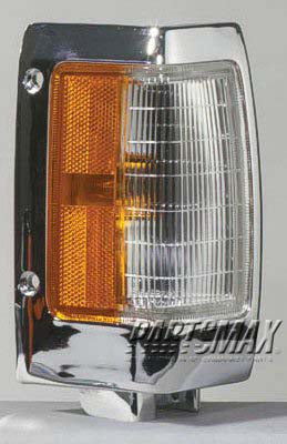 001390 | RT Front marker lamp assy; bright for a 1990-1997: NISSAN, PICKUP