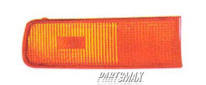 001390 | RT Front marker lamp assy; from 1/95; end of front cover mounted for a 1995-1999: NISSAN, MAXIMA
