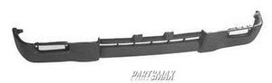 000830 | Front bumper valance; 4WD; black - paint to match for a 1995-1997: TOYOTA, TACOMA
