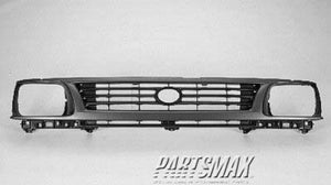 000860 | Grille assy; 2WD; gray & black for a 1995-1996: TOYOTA, TACOMA